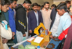 IJT organizes one-day Students' Expo in Mithi- Sindh Courier-1