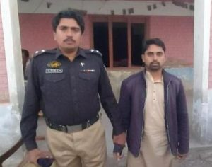 Security Guard arrested - Dadu - Sindh Courier (2)