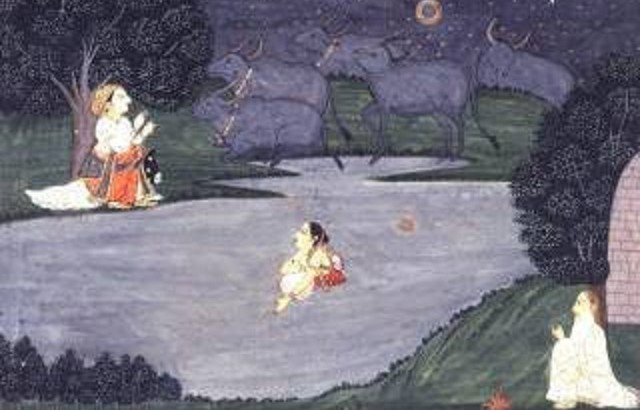 Sohni treats seabed as knee deep water - Painting
