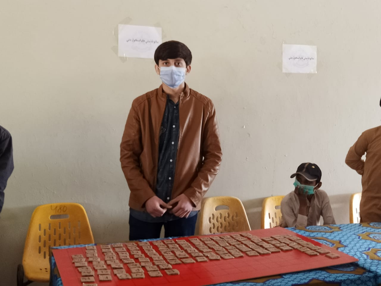 Photo of Thari boy arranges Periodic Table of Elements in 3.30 minutes