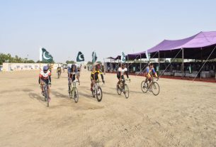 Tharparkar Cycle Race organized in Mithi - Sindh Courier
