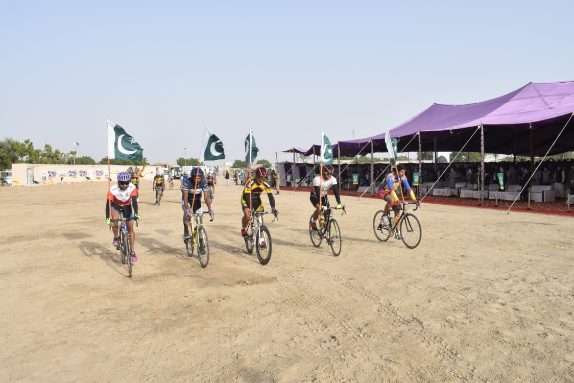 Photo of Tharparkar Cycle Race organized in Mithi