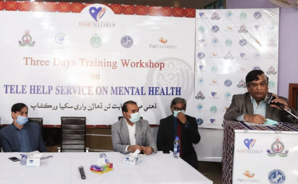 Tharparkar takes lead in launching Mental Health Services - Sindh Courier-1