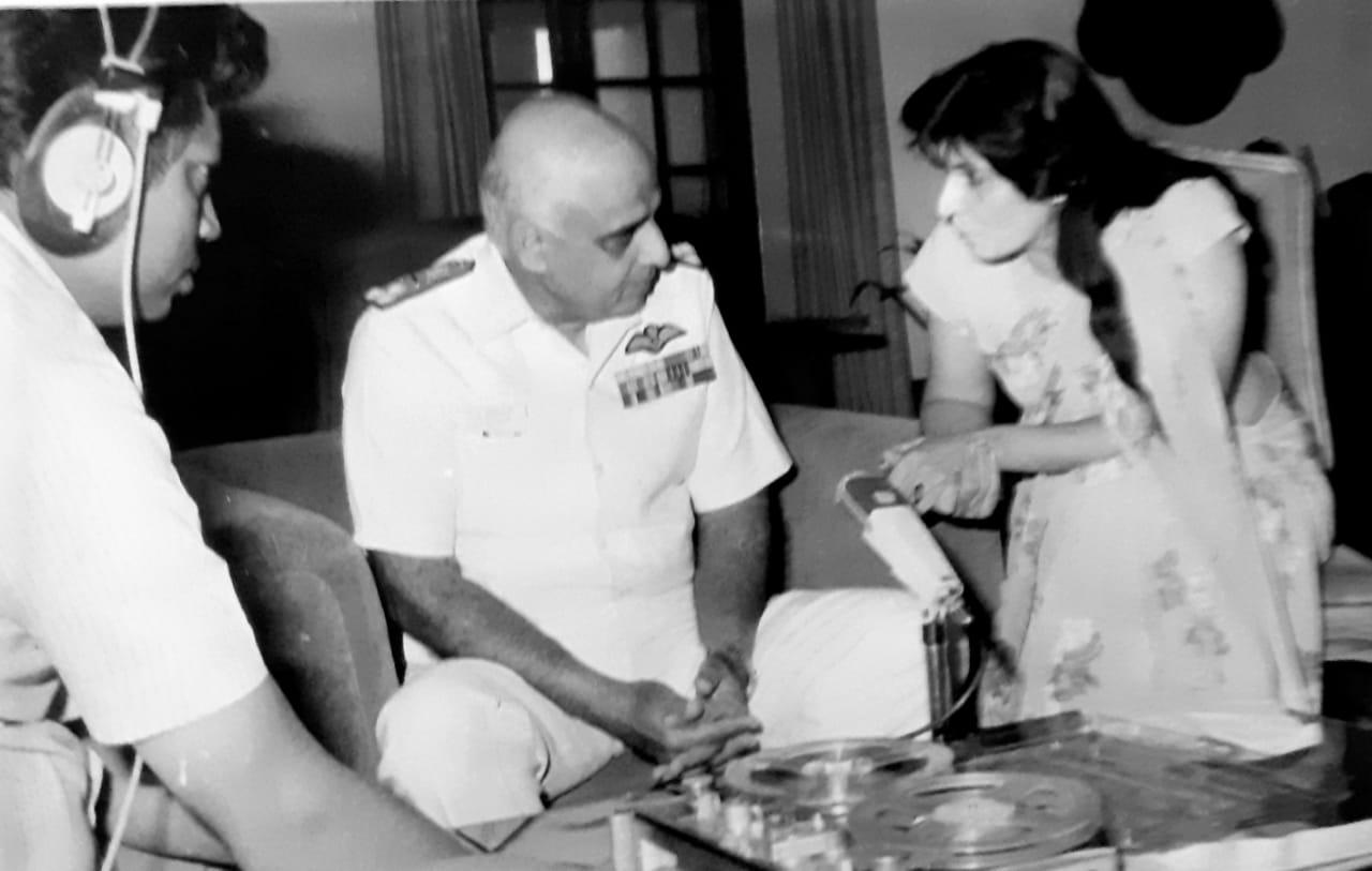 Admiral Tahliani - Veena Shringi