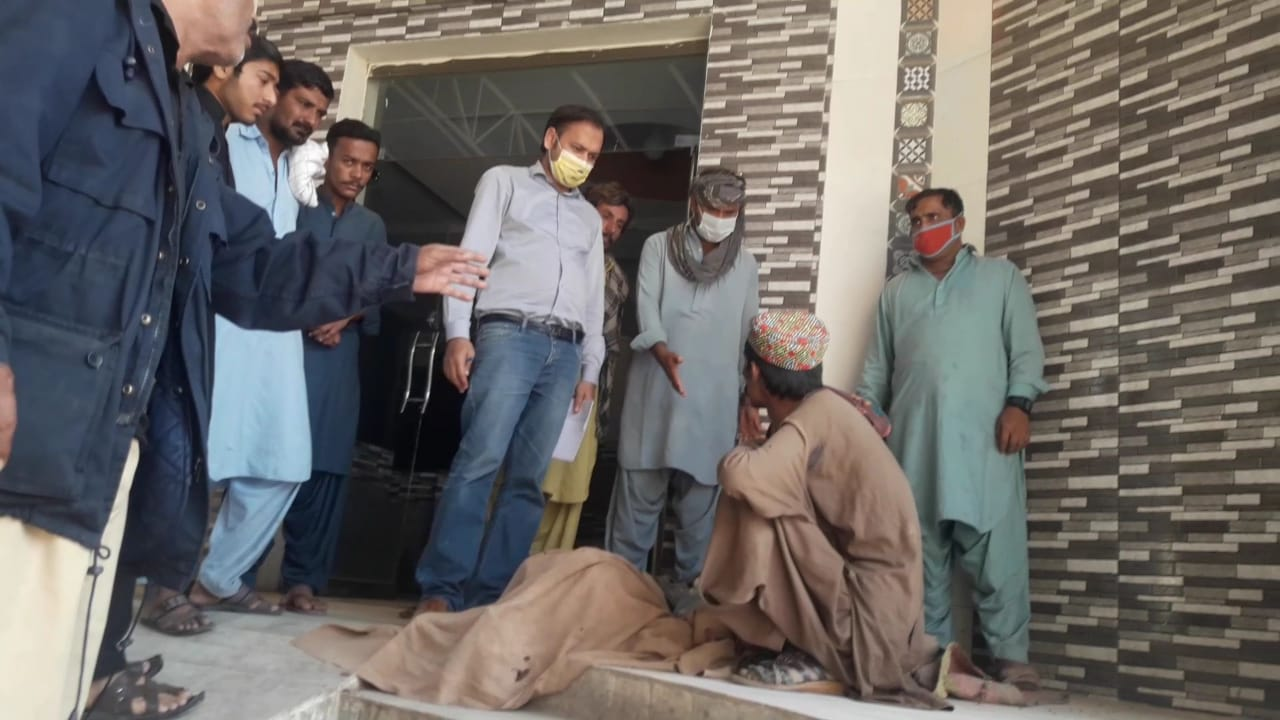 Aged and disabled ailing person forced out of Dadu hospital's Casualty Ward - Sindh Courier-1