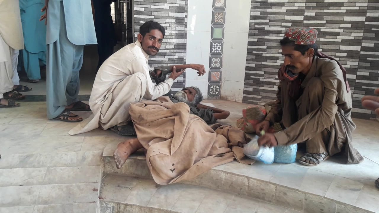 Aged and disabled ailing person forced out of Dadu hospital's Casualty Ward - Sindh Courier-2