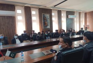 Capacity Building Workshop held for Tharparkar police- Sindh Courier-1