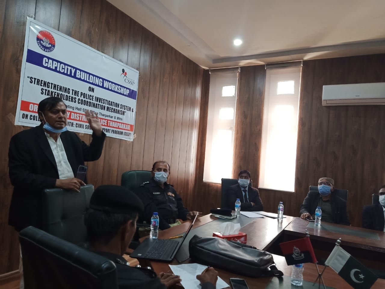 Capacity Building Workshop held for Tharparkar police- Sindh Courier-2