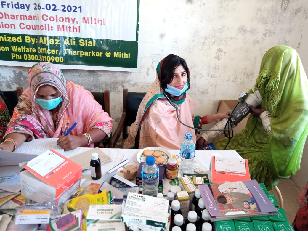 Family Health Festival held in Mithi - Sindh Courier-5