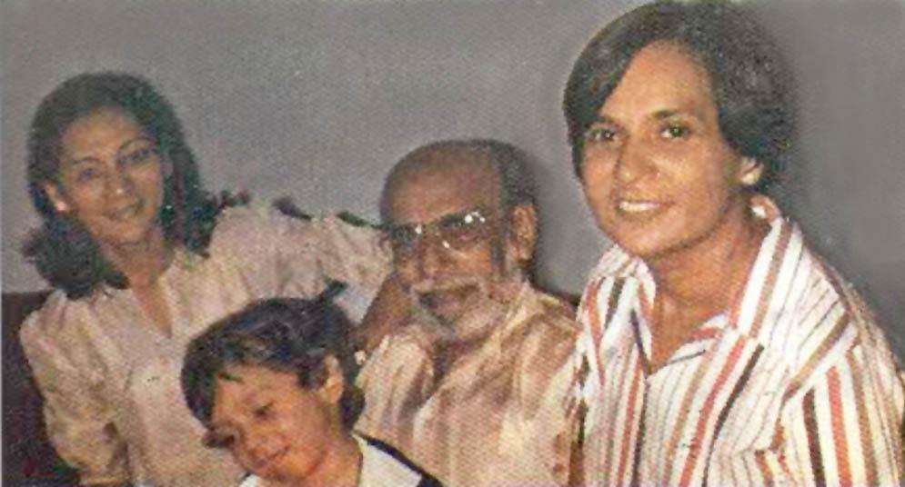 Gobind Malhi – A High Priest of Progressive Sindhi Literature - With Family
