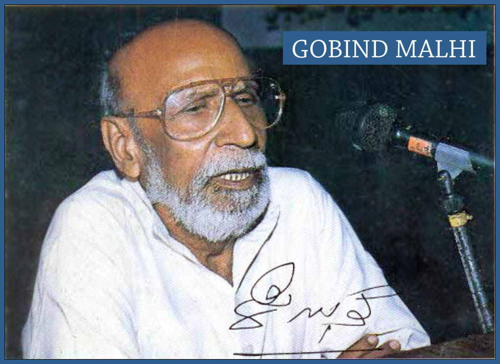 Gobind Malhi – A High Priest of Progressive Sindhi Literature