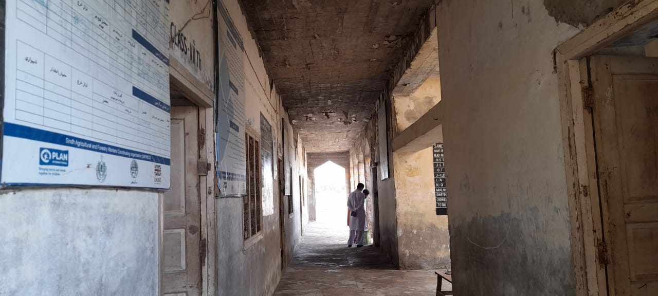 Government High School Tarr Khowaja in Total Neglect - Sindh Courier-2