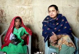 Health official meets petrol-addict girl - Sindh Courier - Jati