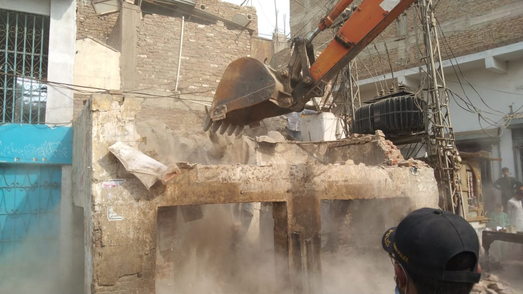 Photo of Hundreds of illegal structures demolished in Tando Jam