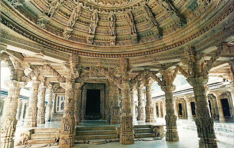 Jainism - Philosophy of Ecological Harmony and Non-Violence - Temple in Rajasthan