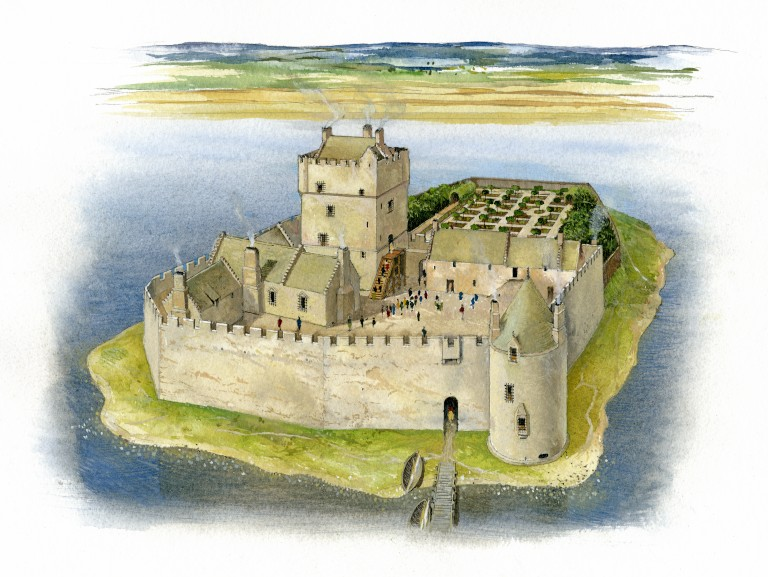 Mary Queen of Scots - Castle where she was detained
