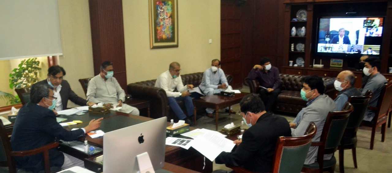 Olive Tree Plantation at Gorakh Hill ordered - Commissioner Hyderabad - Meeting - Sindh Courier