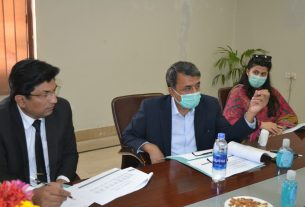 Public School Hyderabad to be run on IBA Sukkur's pattern - Commissioner Meeting- Sindh Courier