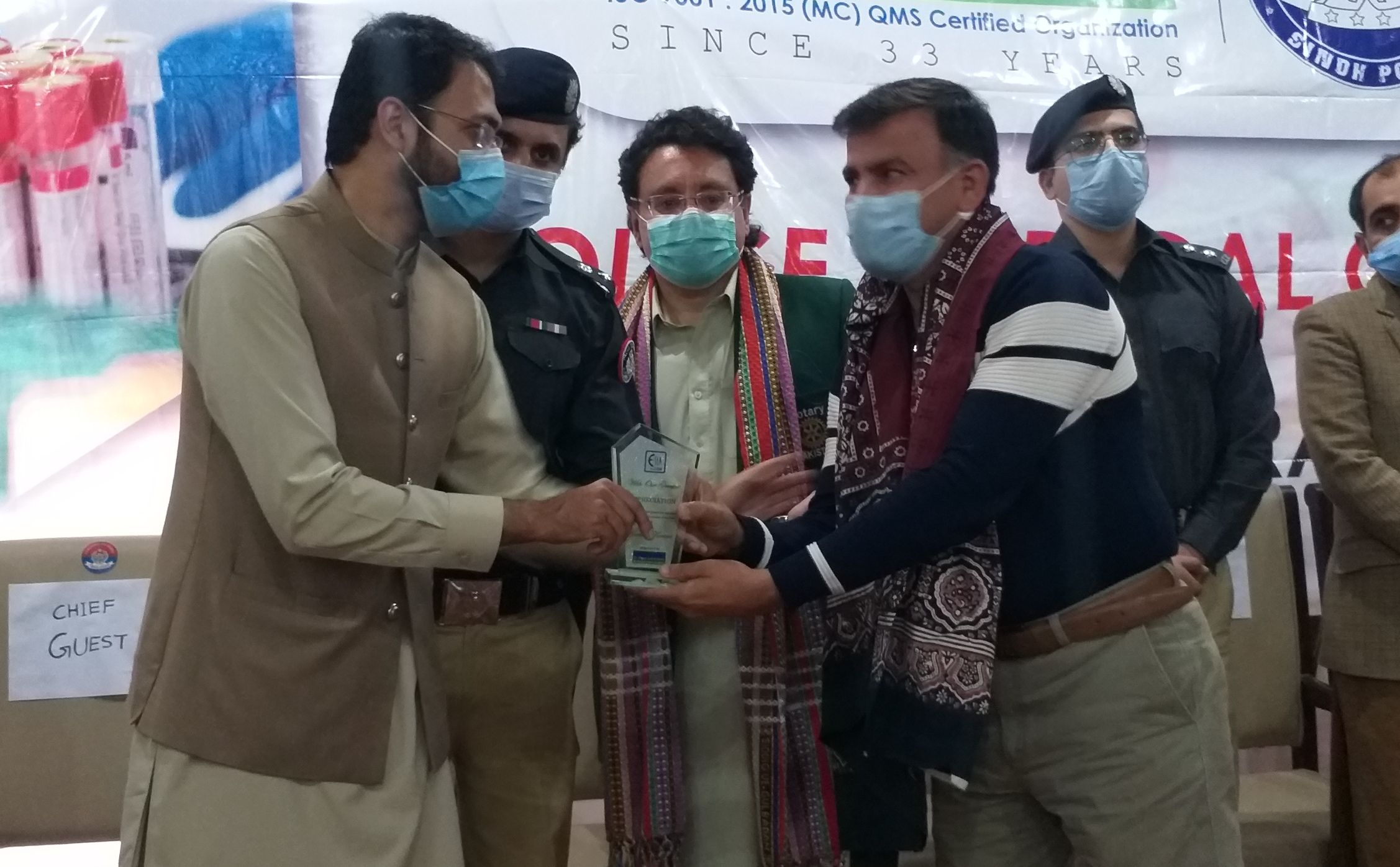 Screening Camp for Ghotki Police Force held- Sindh Courier-3