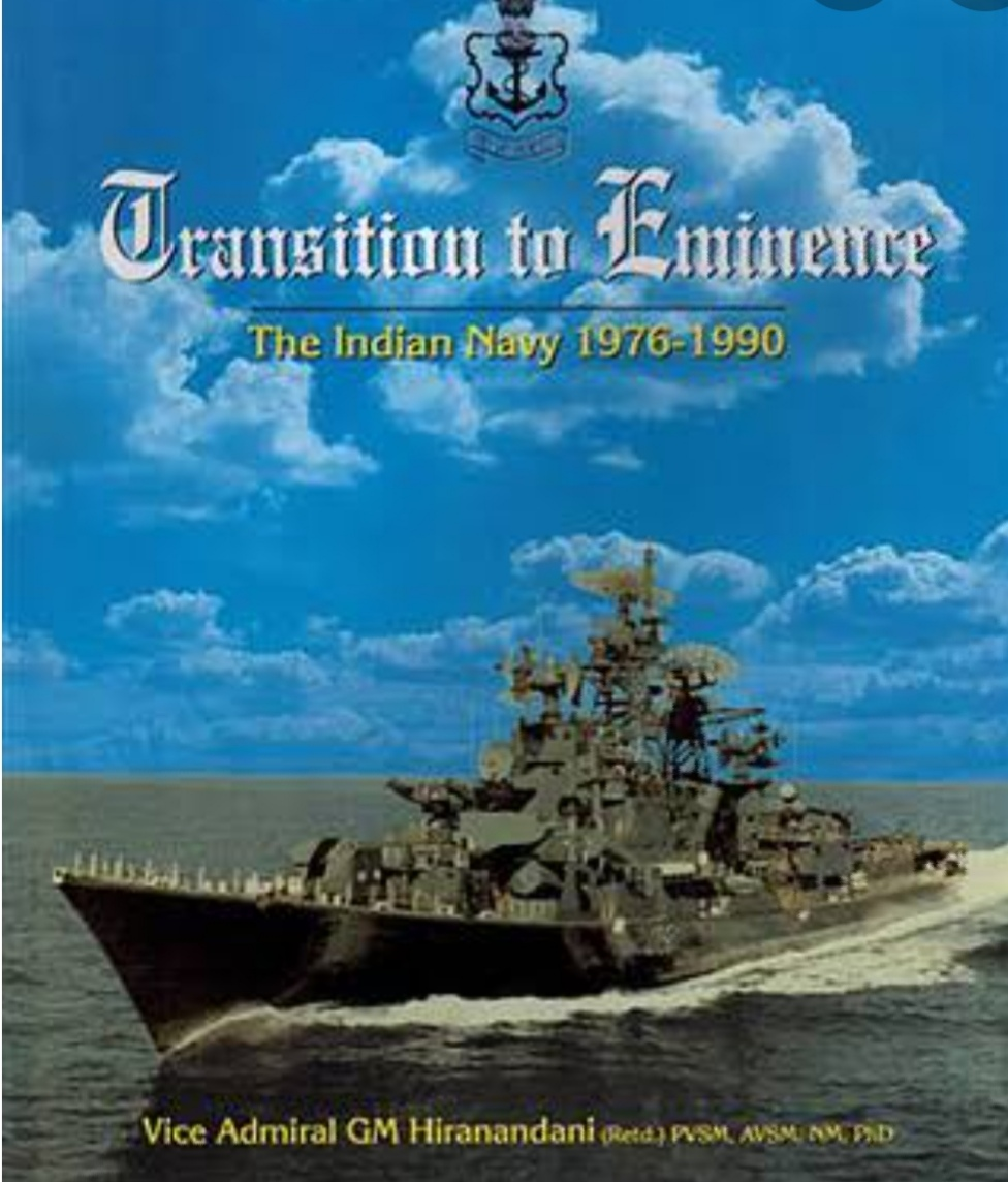 Sindhis – The Mentors of Indian Naval Force - Hiranandani's book title-1