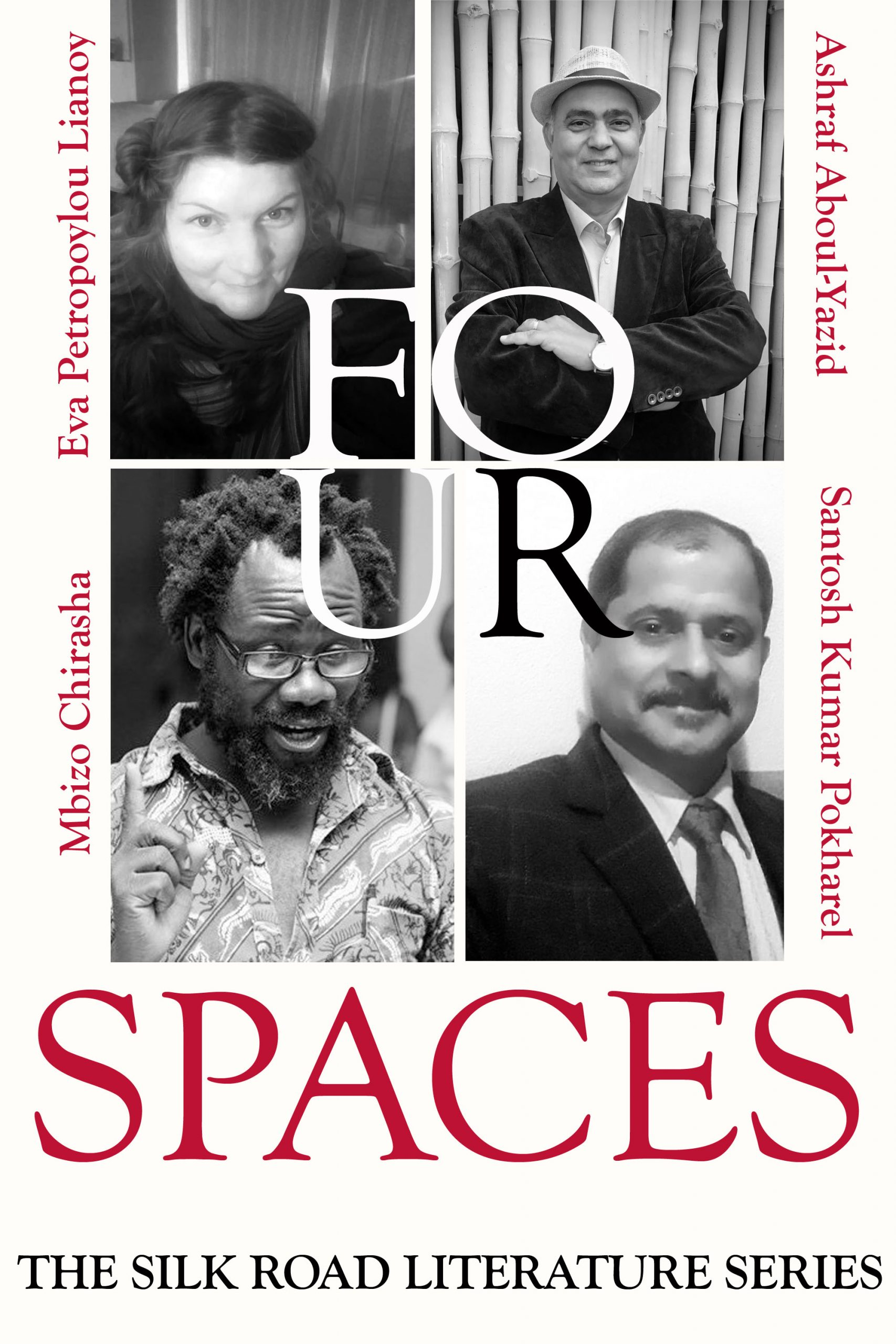 World Poets on the Silk Road - Four Spaces - cover photo- Sindh Courier