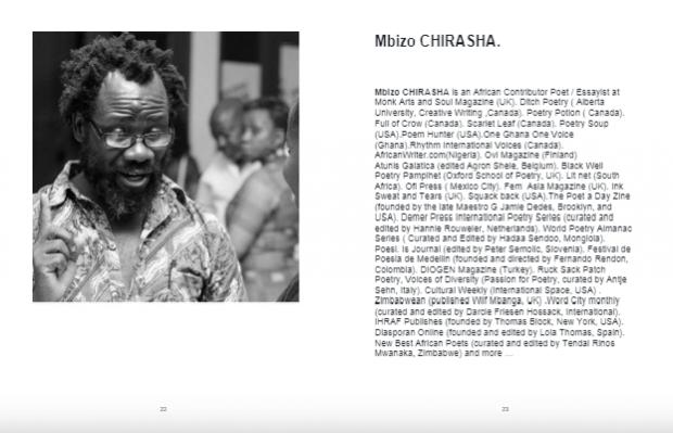 World Poets on the Silk Road - Mbizo Chirasha Zimbabwe - Sindh Courier-3