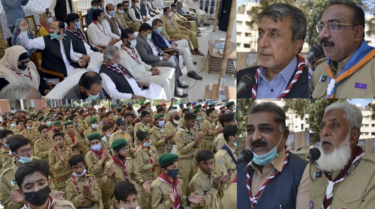 World Scouts Day Observed in Hyderabad - Sindh Courier-1