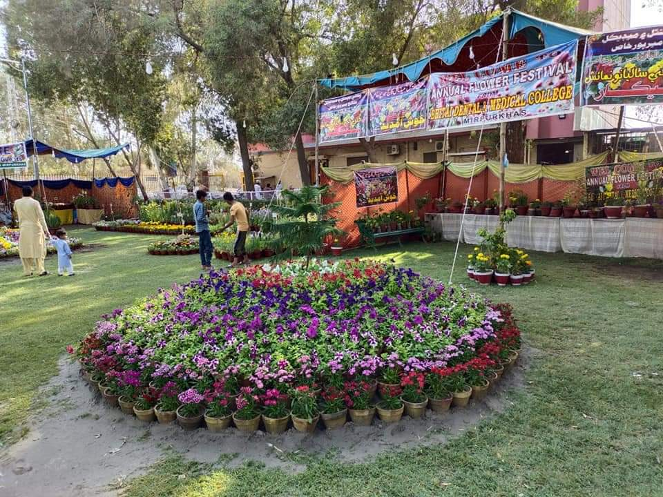63rd Annual Flower Show held in Mirpurkhas - Sindh Courier-1