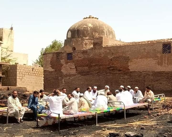 Aliens occupy the land of Thatta's historic 2- Dome Gujarati School - Sindh Courier-2