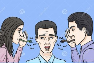 Backbiting is widespread among people in our society