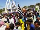 Citizens of Diplo town stage demonstration - Sindh Courier-1