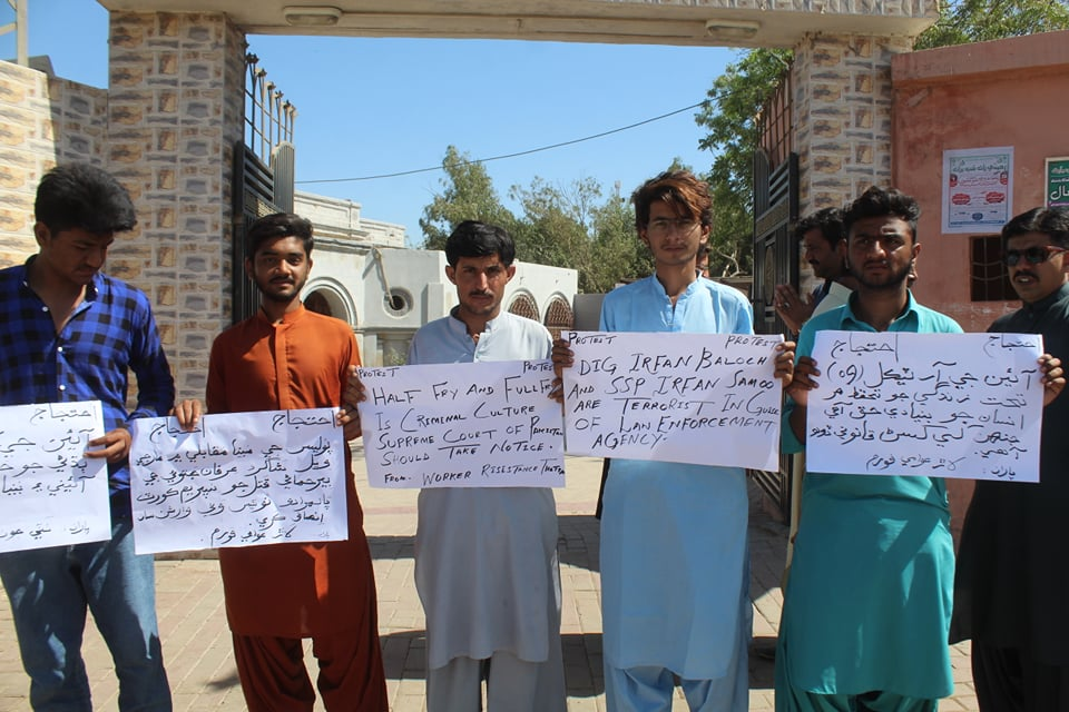 Extra-Judicial Killing of Irfan Jatoi Sparks Protest- Sindh Courier-2