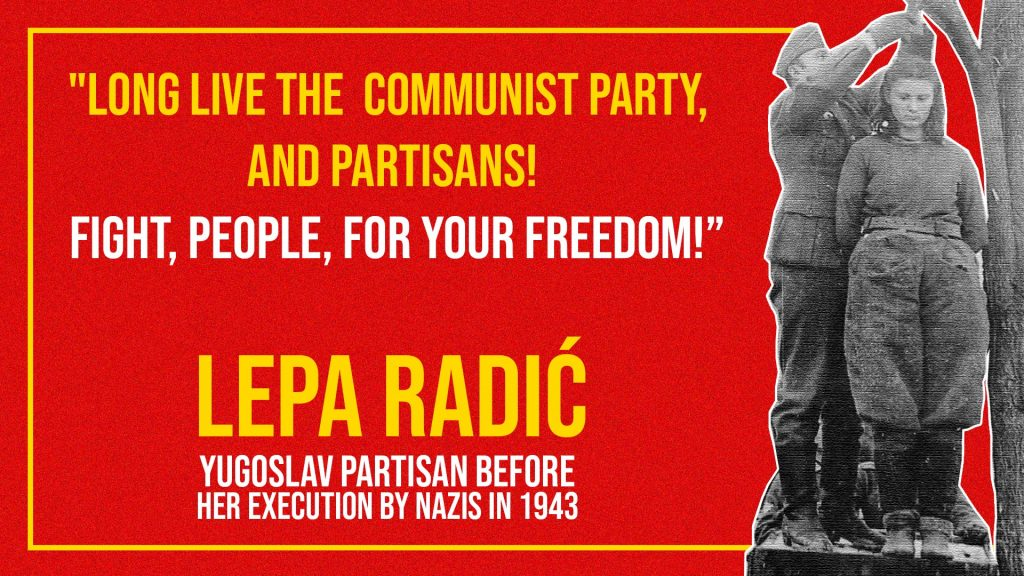 Fight People for Freedom, Don't Surrender - Lepa Radic-1