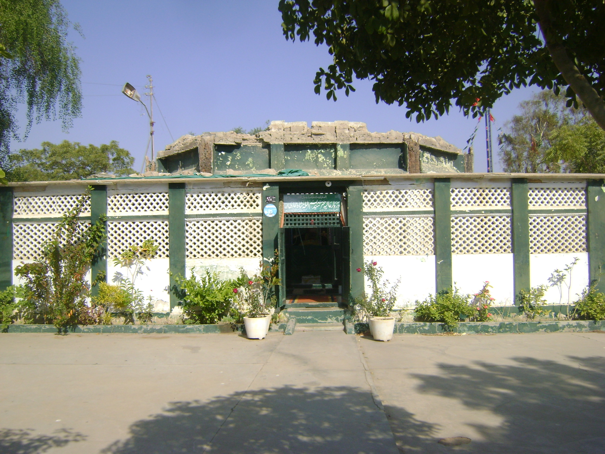 Final resting place of martyred Pir Pagaro remains a mystery- Shrine of Pir Bismillah shah - Sindh Courier-4