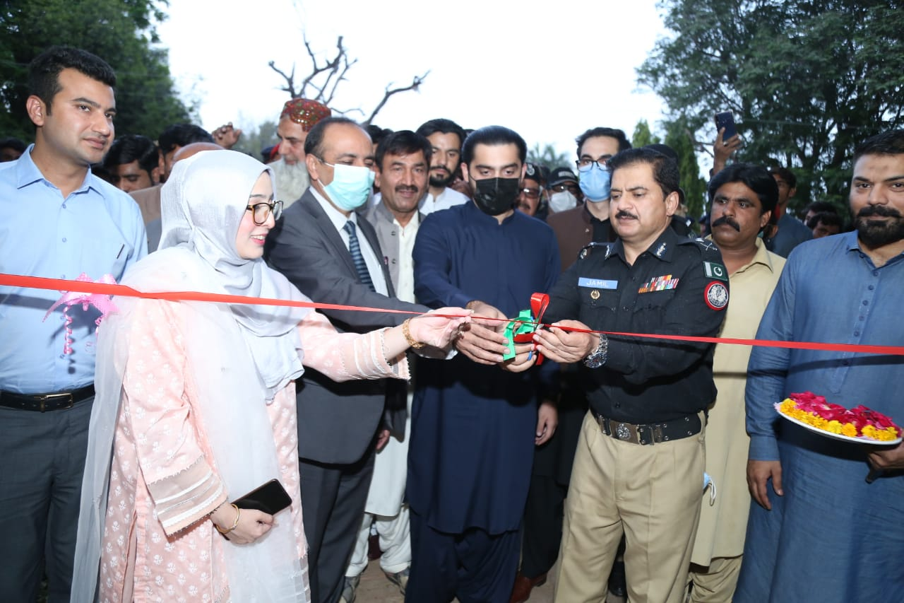 First ever Mini Urban Forest established in Tando Jam - Sindh Courier-4