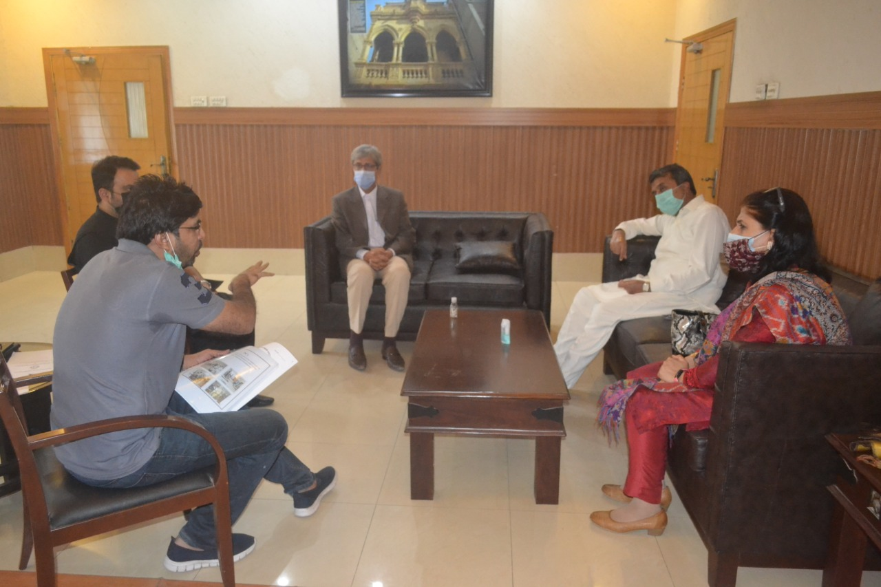 Hyderabad to have Institute for treatment of disabled persons- Commissioner- meeting- Sindh Courier