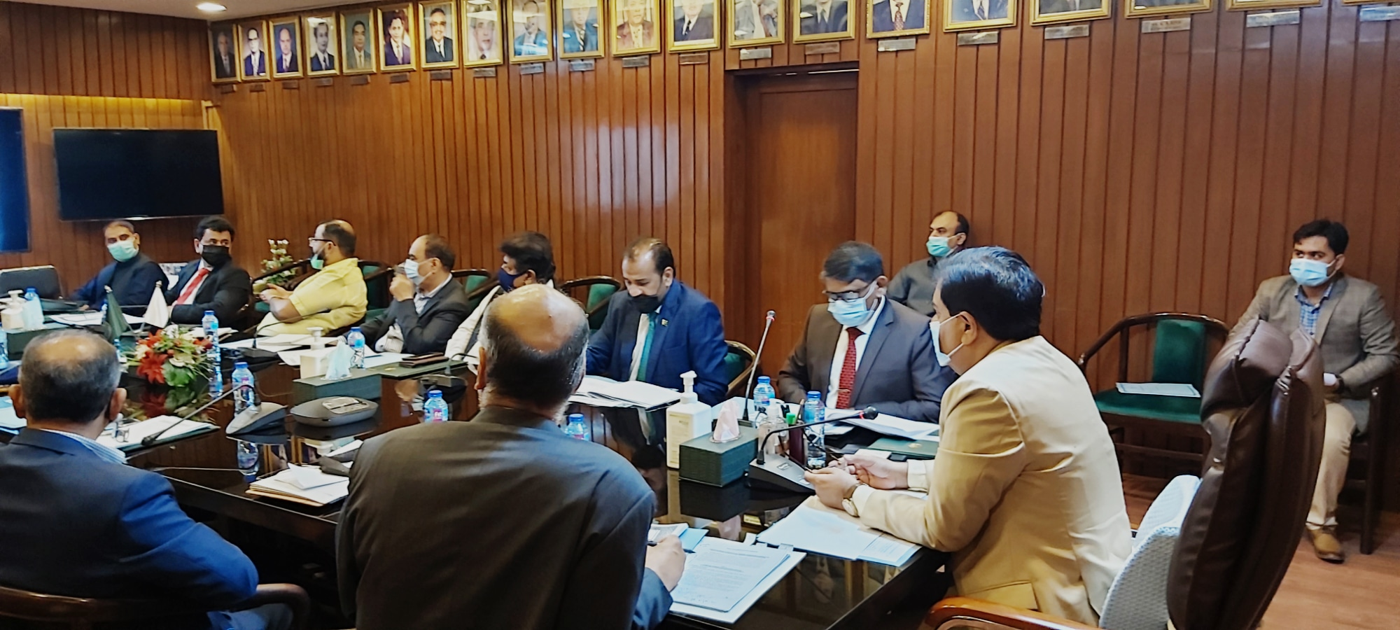 Karachi By-Polls- CCTV Cameras - Chief Secretary Meeting - Sindh Courier