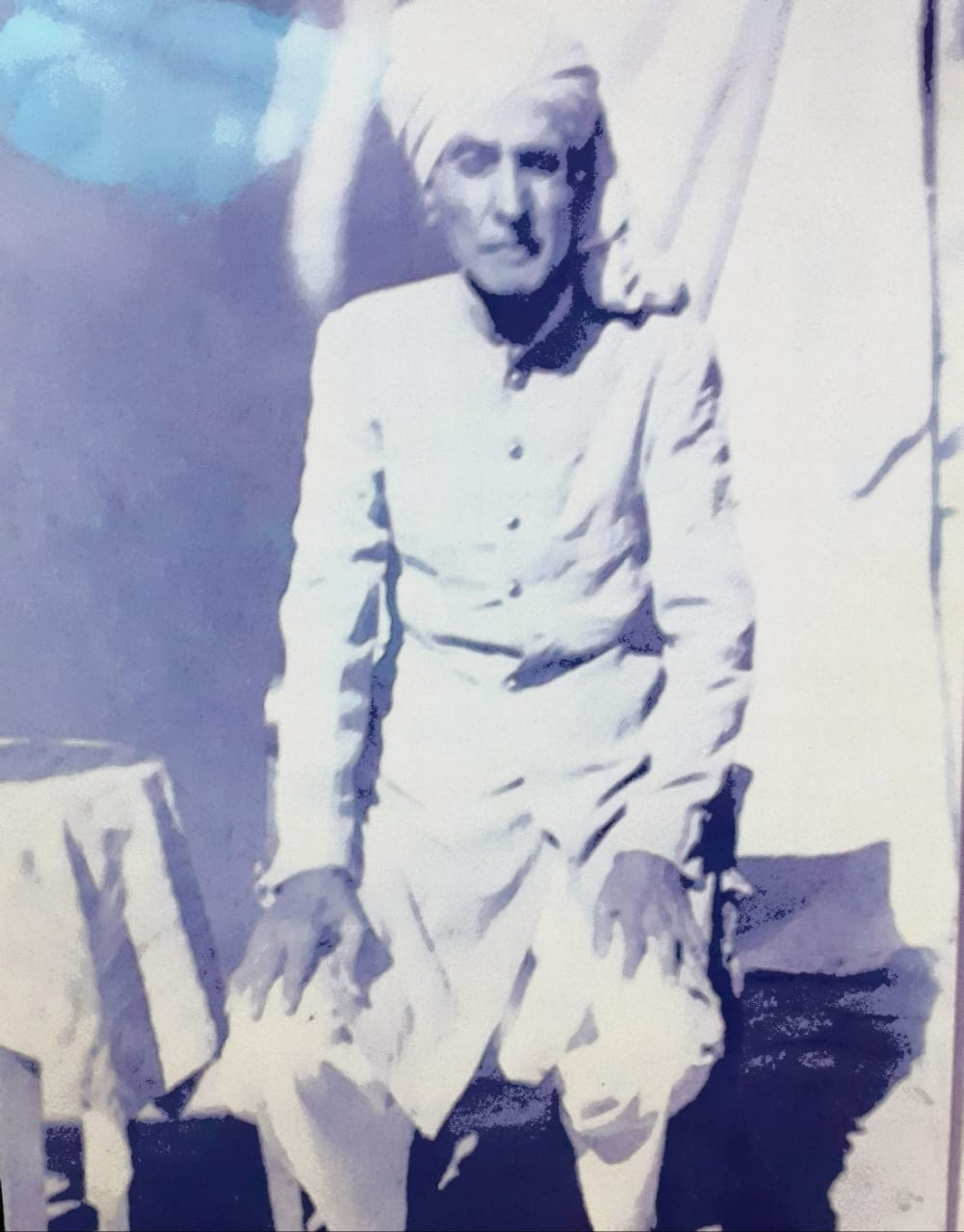 Memoirs - Can't Forget My Loved Ones - Veena- Grandfather Maharaj Ramchander- Sindh Courier