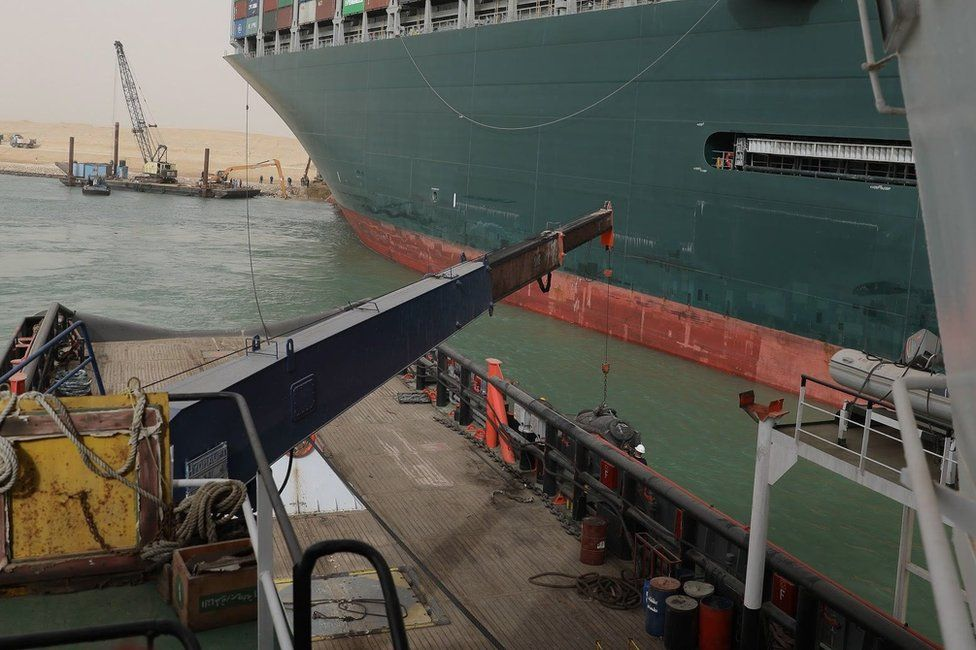 Observations of an Expat- The High Seas - Suez Canal-1