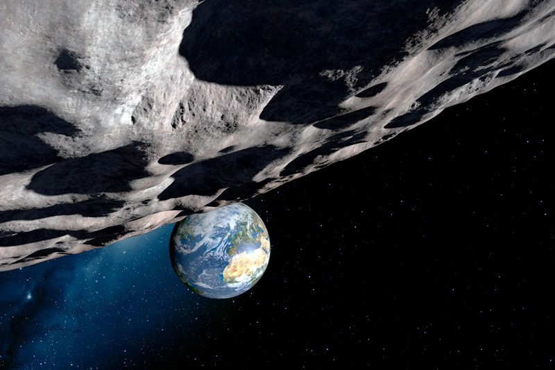 Record number of asteroids seen whizzing past Earth