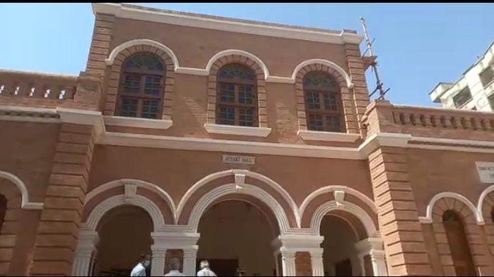 Renovation of Hyderabad's historic Basant Hall underway - Sindh Courier-1