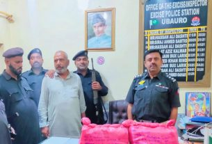 Sindh Excise Police seize 40kg hashish - Sindh Courier