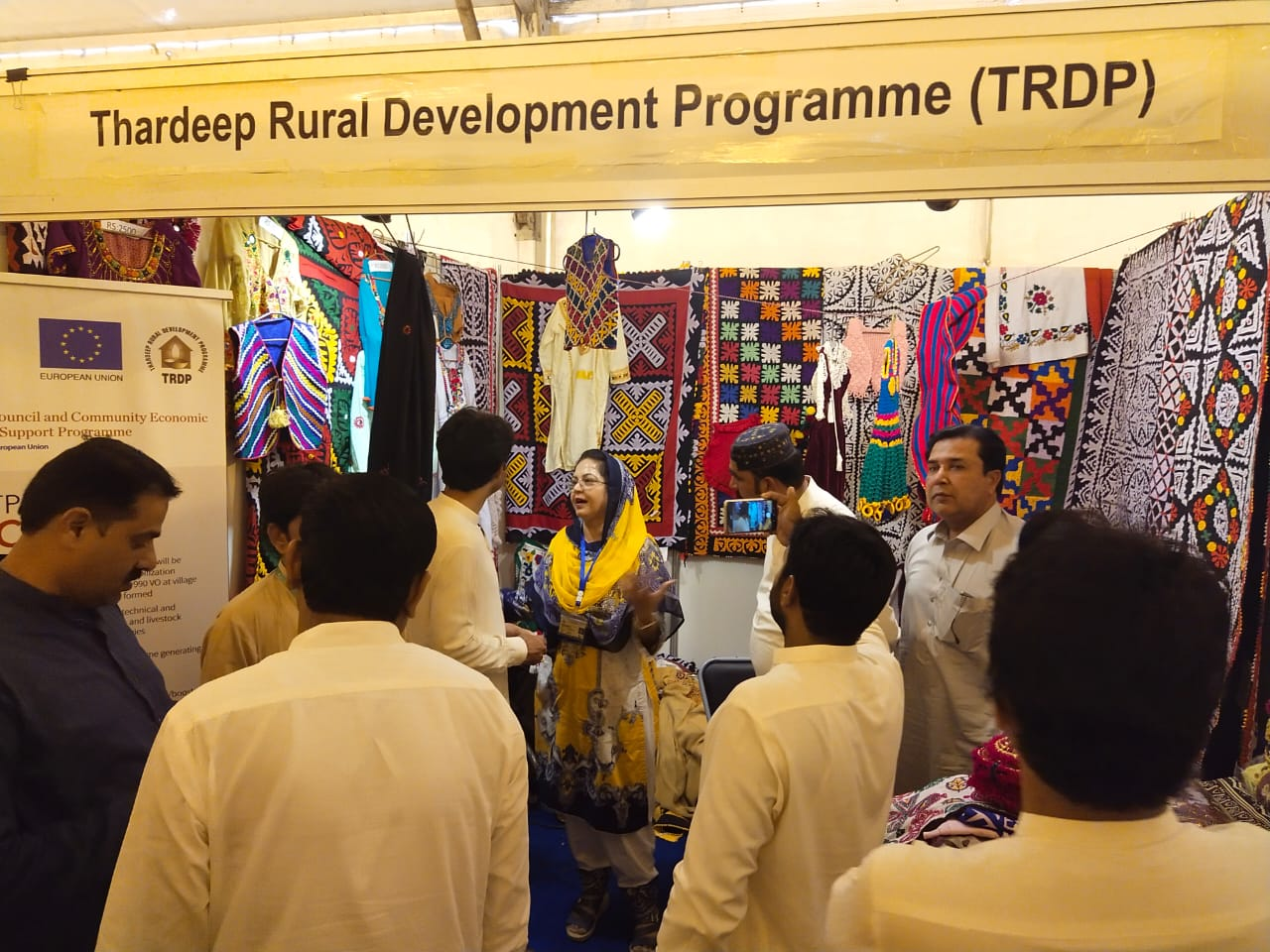 Sindh's cultural handcrafts on display- Thardeep- Hyderabad-Sindh Courier-1