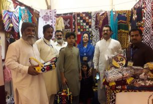 Sindh's cultural handcrafts on display- Thardeep- Hyderabad-Sindh Courier-2