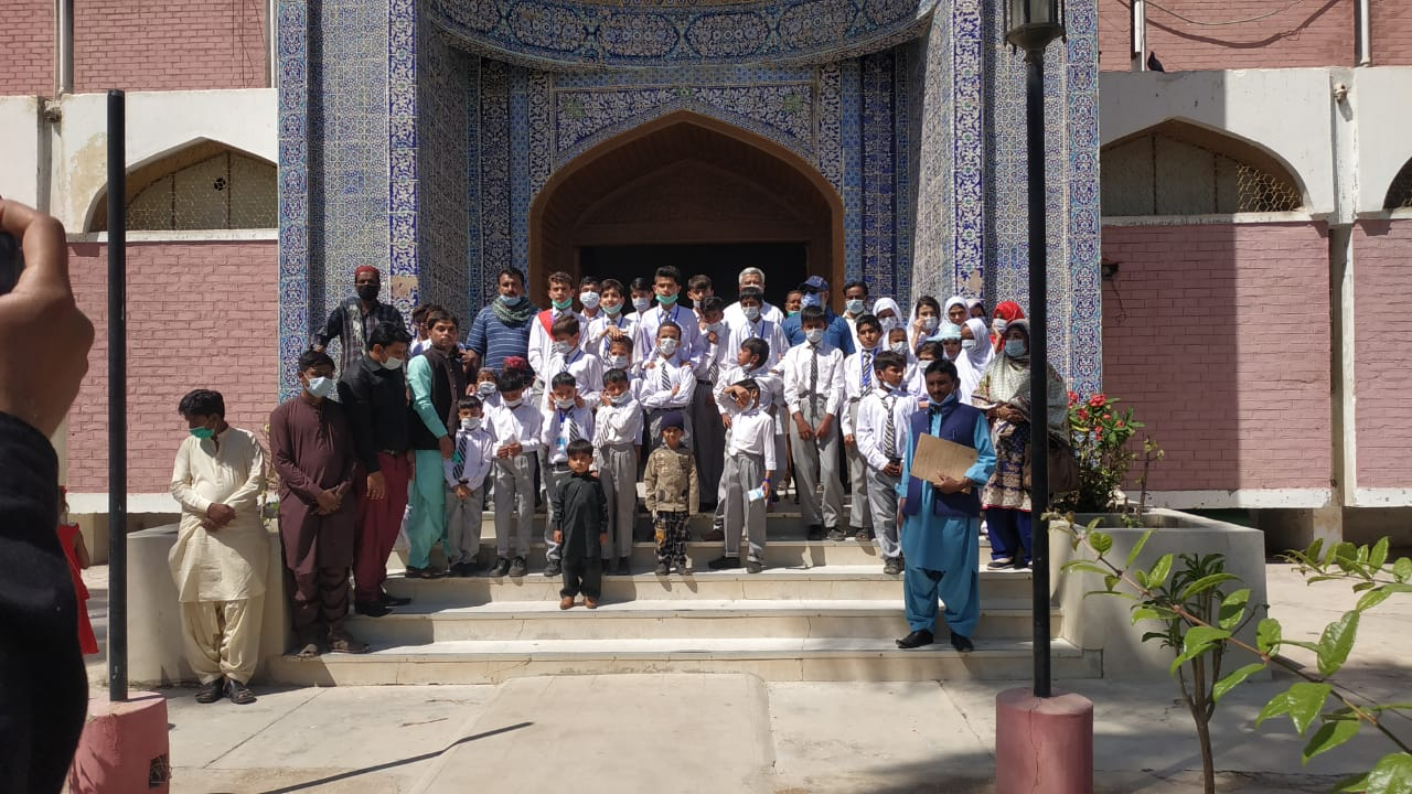 Study tour of differently abled children - Sindh Courier-2