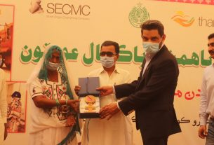 Thari women honored for their distinguished work - Sindh Courier-1