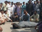 Ubauro Blast - Citizens block highway as an injured boy dies- Sindh Courier-1