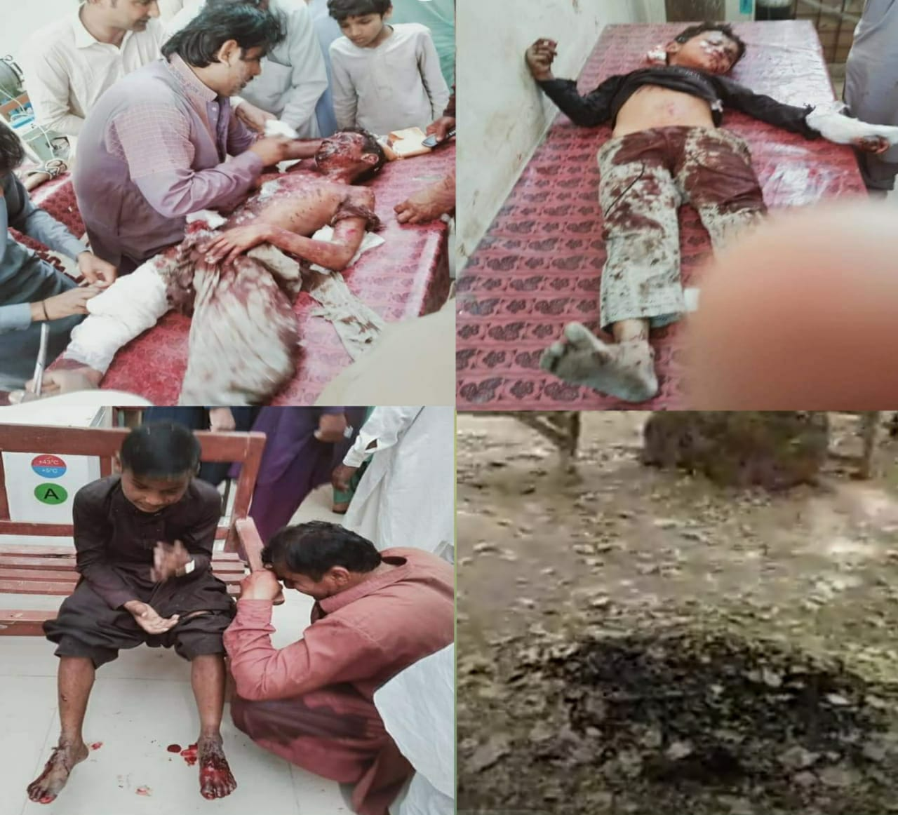 Ubauro Blast - Explosive material was sold to children as 'cracker' - Sindh Courier-1