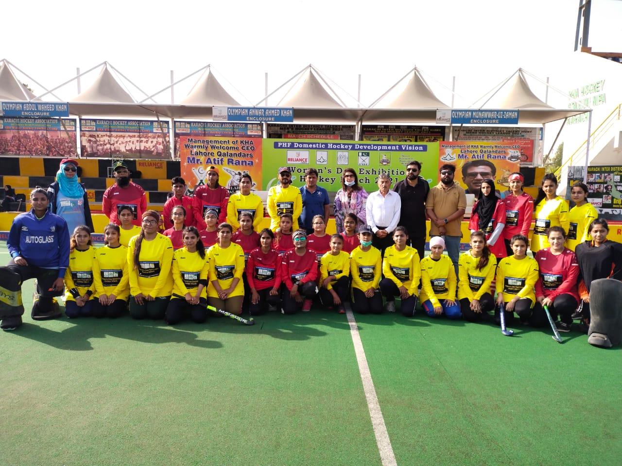 Women's Hockey Match Played In Karachi - Sindh Courier-2