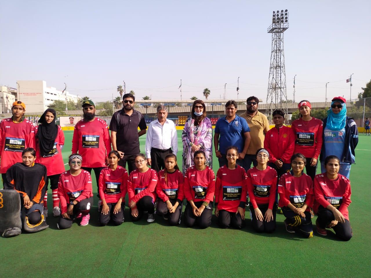 Women's Hockey Match Played In Karachi - Sindh Courier-3
